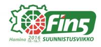 Fin5-suunnistusviikko 2016